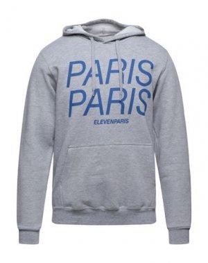 Толстовка ELEVEN PARIS. Цвет: серый