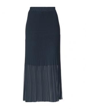 Юбка длиной 3/4 CLUB VOLTAIRE. Цвет: темно-синий
