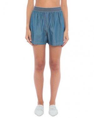 Пляжные брюки и шорты TWINSET. Цвет: ярко-синий