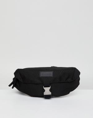 Черная сумка-кошелек на пояс -Черный Consigned