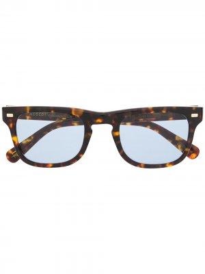 Солнцезащитные очки Kavell Moscot. Цвет: коричневый