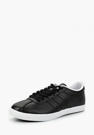 Кеды adidas COURTSET W. Цвет: черный