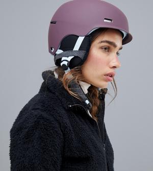 Фиолетовый шлем для сноуборда Raven Anon. Цвет: фиолетовый