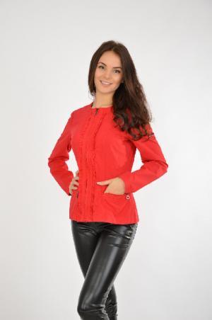 Куртка FINE FLARE FINN. Цвет: красный