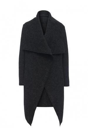 Пальто Fornarina. Цвет: черный