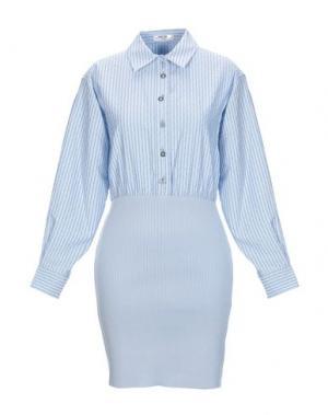 Короткое платье OPENING CEREMONY. Цвет: небесно-голубой