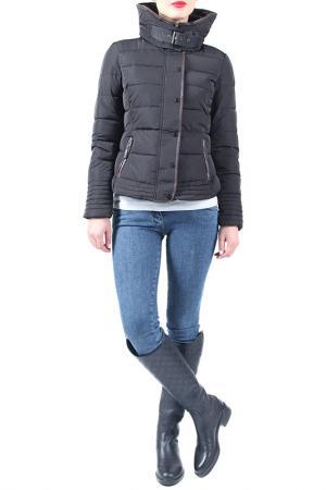 Куртка EVA Milano. Цвет: черный