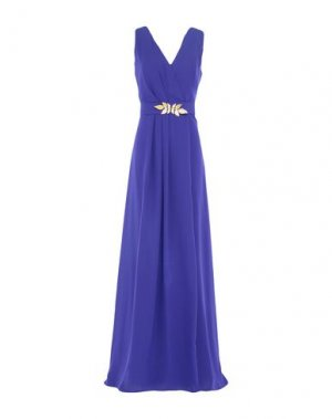 Длинное платье CASTING. Цвет: фиолетовый