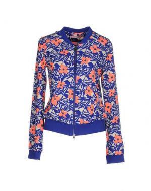 Куртка FORNARINA. Цвет: ярко-синий