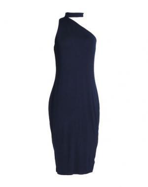 Платье до колена BAILEY 44. Цвет: темно-синий