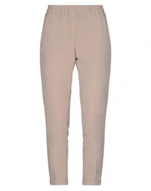 Повседневные брюки GOSSIP. Цвет: бежевый