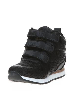 Сникерсы King Boots. Цвет: черный