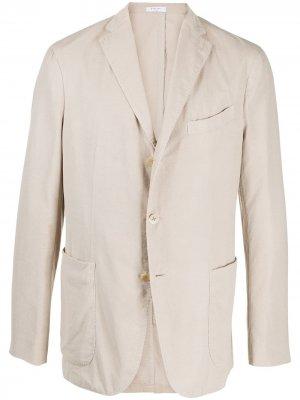 Пиджак на трех пуговицах Boglioli. Цвет: 0226 ghiaccio