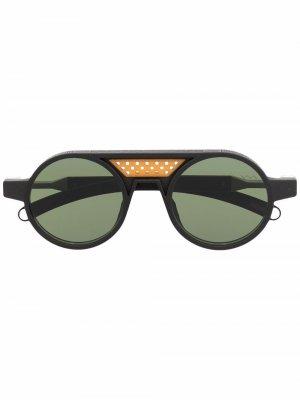 Солнцезащитные очки Mamona Athlete со сменной оправой VAVA Eyewear. Цвет: черный
