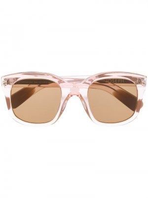 Солнцезащитные очки Westbourne в квадратной оправе Joseph. Цвет: розовый