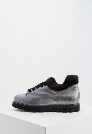 Ботинки Baldinini. Цвет: серебряный