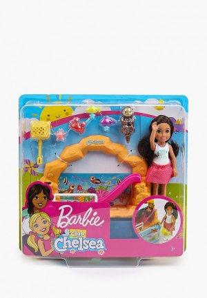 Кукла Barbie Аквариум с куклой Челси и аксессуарами. Цвет: разноцветный