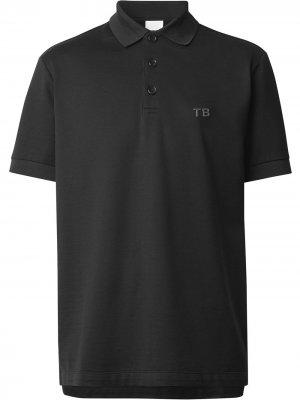 Рубашка поло с монограммой TB Burberry. Цвет: черный