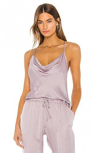 Майка sweetie YFB CLOTHING. Цвет: бледно-лиловый