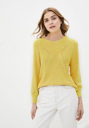 Пуловер Pavli. Цвет: желтый