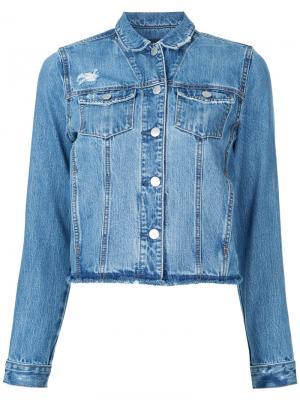 Куртка Original Nobody Denim. Цвет: синий