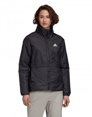 Черная утепленная куртка adidas Outdoors 3S-Черный performance