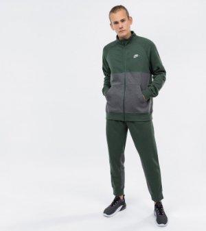 Костюм мужской , размер 52-54 Nike. Цвет: зеленый