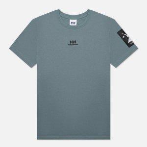 Мужская футболка Yu Twin Logo Helly Hansen. Цвет: серый