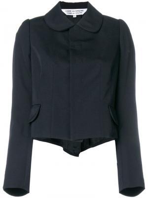 Укороченный пиджак в стиле фрака Comme Des Garçons
