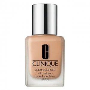 Тональный крем Superbalanced Silk Makeup SPF 15, оттенок Bisque Clinique. Цвет: бесцветный