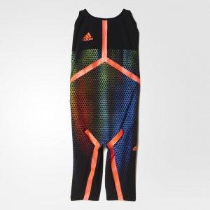 Костюм для плавания Performance adidas. Цвет: черный