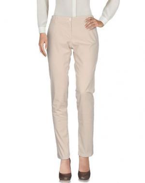 Повседневные брюки UZÈS. Цвет: бежевый