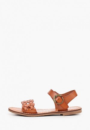 Сандалии Francesco Donni. Цвет: коричневый