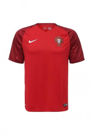 Футболка спортивная Nike FPF M SS HM STADIUM JSY. Цвет: бордовый