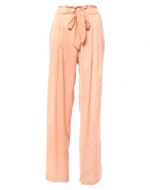 Повседневные брюки ANNARITA N. Цвет: розовый