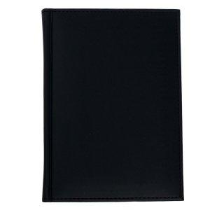 Ежедневник датированный а5 на 2022 год, 168 листов, обложка искусственная кожа vivella, чёрный Calligrata