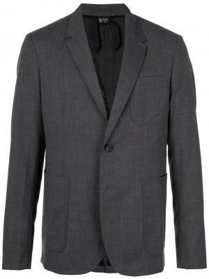 Пиджак кроя слим Nº21. Цвет: серый