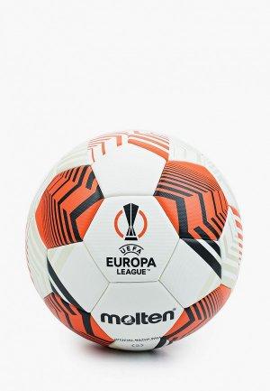 Мяч футбольный Molten. Цвет: разноцветный