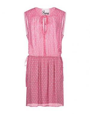 Платье миди 8PM. Цвет: розовый
