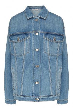Джинсовая куртка Stella McCartney. Цвет: голубой