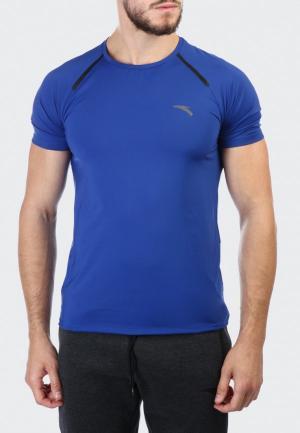 Футболка спортивная Anta Running Jogging. Цвет: синий