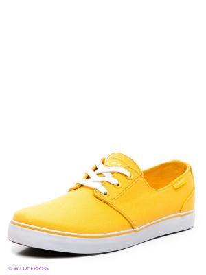 Сникеры Circa. Цвет: желтый