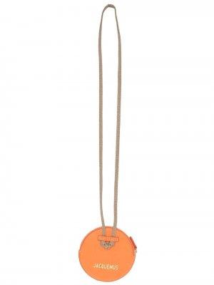 Кошелек Le Pitchou с ланъярдом Jacquemus. Цвет: оранжевый