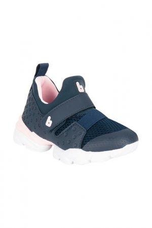 Обувь спортивная Bibi. Цвет: синий, розовый