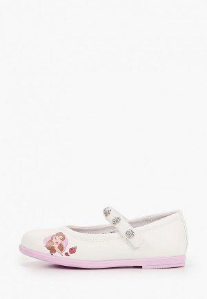 Туфли Disney. Цвет: белый
