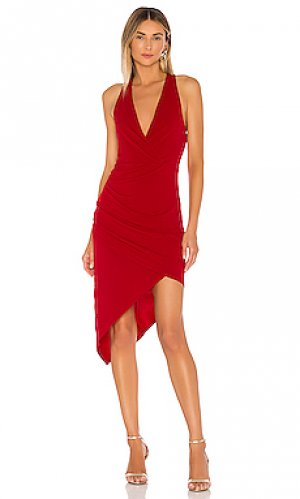 Платье миди BCBGeneration. Цвет: красный