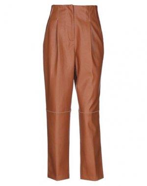Повседневные брюки BEATRICE. Цвет: коричневый