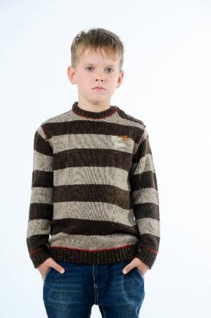 Джемпер E-BOUND. Цвет: коричневый