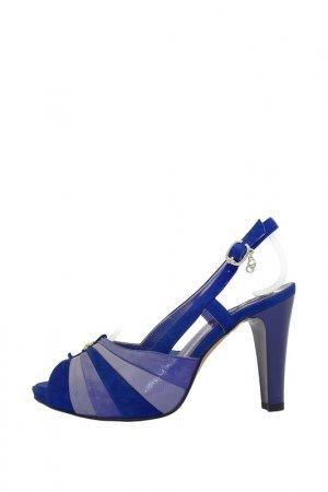 Босоножки Giada Gabrielli. Цвет: синий, фиолетовый