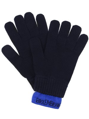 Перчатки шерстяные DIRK BIKKEMBERGS